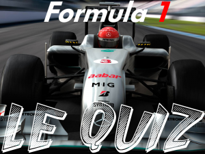 Formula 1: Le Quiz