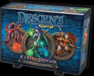 Descent V2 - Extension Héros & Monstres : A l'Etat Sauvage