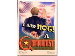 I Am NOT a Communist