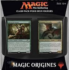 "Magic ""The Gathering"" ; Origines : Clash pack pour deux joueurs"