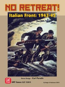 NO RETREAT! Italian Front 1943-45