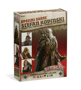Zombicide black plague - Special Guest: Stefan Kopinski