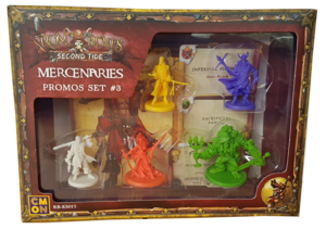 Rum & Bones Second Tide : Mercenaries - Promos Set #3
