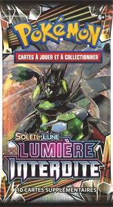 Booster Pokémon - Soleil & Lune  : Lumière Interdite