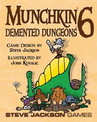 Munchkin 6 : Demented Dungeons