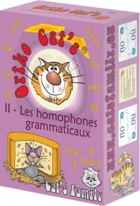 Ortho Cat's 2 - les homophones grammaticaux