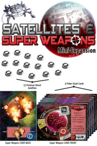 Tiny Epic Galaxies - Satellites & Super Weapons