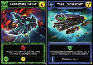 "Star Realms : Promo Set ""Combattant Hurleur & Méga-Transporteur"""