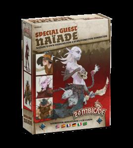 Zombicide black plague - Special Guest: Naiade