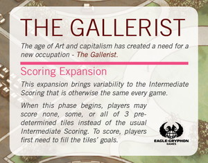 "Gallerist (The) - Extension ""Scoring"""