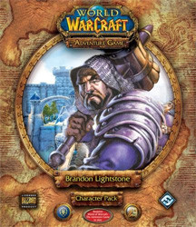 World of Warcraft : the Adventure Game Brandon Lightstone Character Pack