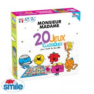 20 jeux classiques Monsieur Madame