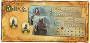 "Andor - Extension ""Guerriers-Loups / Wolf Warrior / Orfen & Marfa"""