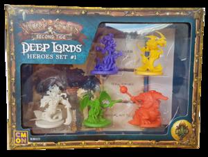 Rum & Bones Second Tide : Deep Lords - Heroes Set #1