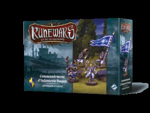 Runewars - Commandement d'Infanterie Daqan
