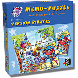 Memo-Puzzle : Version Pirates