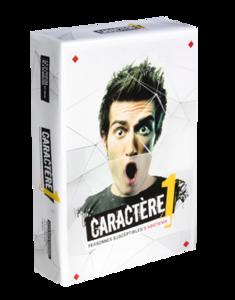 Caractère - boîte 1