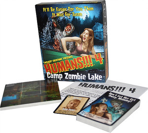 Humans!!! 4: Camp Zombie Lake