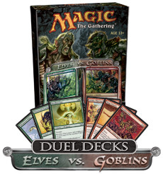 Magic the Gathering - Elves vs. Goblins