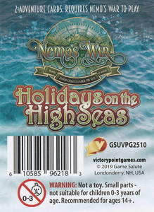 Nemo's War (2nd Edition) - Extension 'Holidays on the High Seas'