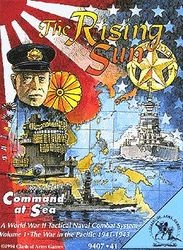The Rising Sun - The war in the Pacific 1941-43  - Command at sea vol. 1