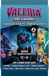 Valeria: Card Kingdoms – Expansion Pack #02: Undead Samurai