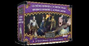 Massive Darkness : Les Prêtres Guerriers vs. La Lancière Cyclope