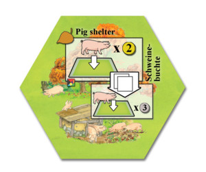 Keyflower : Pig Shelter