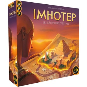 Imhotep : Les Bâtisseurs d'Egypte