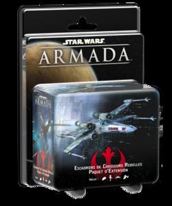 Star Wars Armada : Escadrons de Chasseurs Rebelles