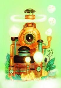 Dixit : Carte promotionnelle Machine à rêves (Dixit 4)