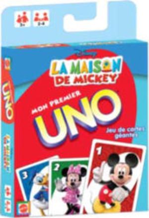 Mon premier Uno - La maison de Mickey