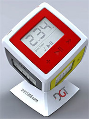 Cube DGT - Timer 6 joueurs