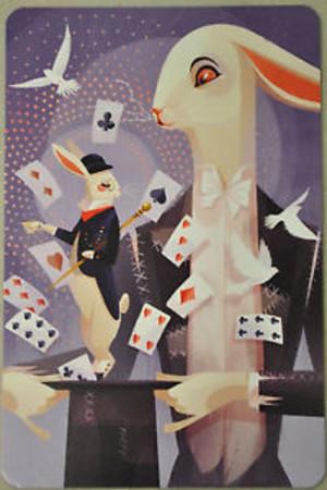 Dixit : Carte promotionnelle Lapin magique