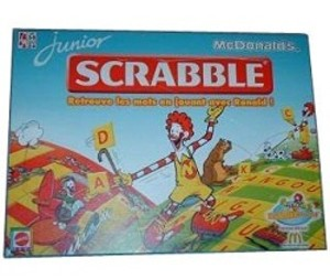 Scrabble Junior - Mc Donalds