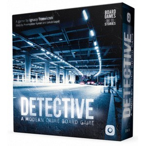 Detective, a modern crime board game