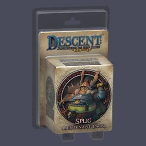 Descent : Voyages dans les Ténèbres ! - Pack Lieutenant Splig