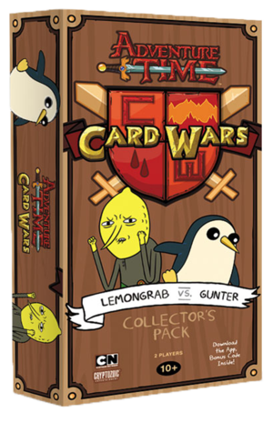 Adventure Time Card Wars : Lemongrab VS Günter