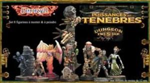 Dungeon Twister : Puissances des ténèbres (Figurines)