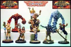 Dungeon Twister : L'eau et le feu (Figurines)