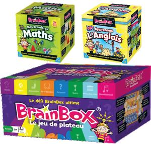 Brainbox Le Jeu Asmodee : King Jouet, Jeux de réflexion Asmodee  Jeux de