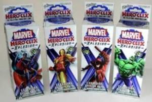 Marvel Heroclix - Xplosion Booster
