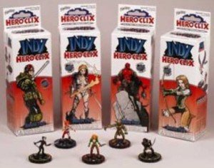 Indy Heroclix - Booster