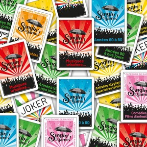 Singin' in the Game! : les 55 cartes goodies