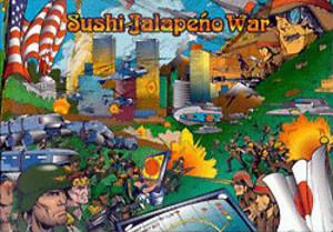 Sushi Jalapeno War