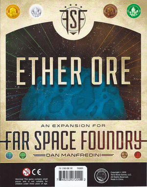 Far space foundry ⋅ Ether ore