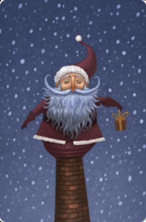 Dixit : Carte promotionnelle Père Noël (Dixit 5)