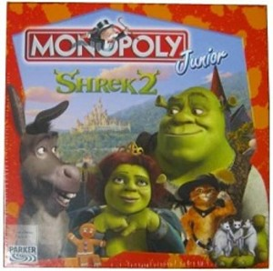 Monopoly junior - shrek 2