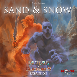 Sand and snow