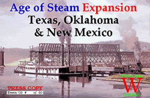 Age of Steam : Texas, Oklahoma & New Mexico
